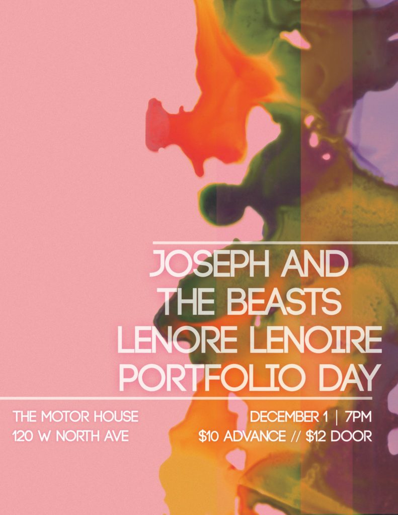 Portfolio Day/Lenore LeNoire/Joseph And The Beasts 2