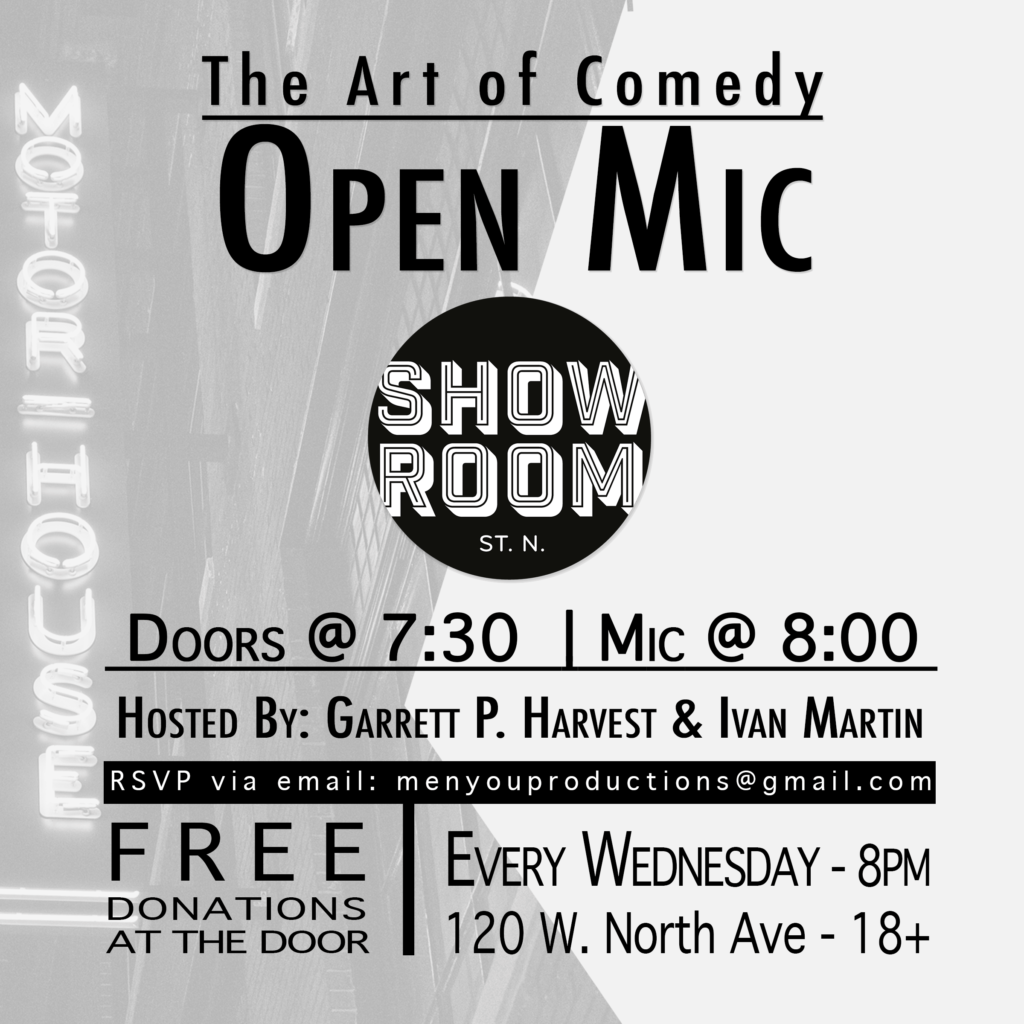 The Art of Comedy Open Mic