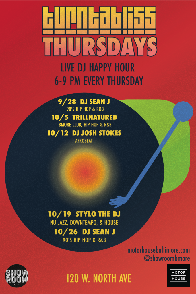 Turntabliss Happy Hour  w/ DJ Trillnatured