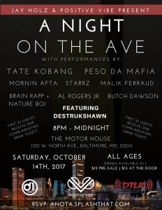 A Night on the Ave.