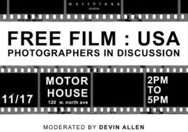 FREE FILM USA : Photographers in Discussion Feat. Devin Allen