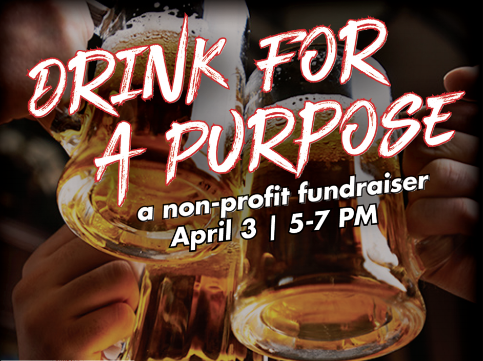 Drink For A Purpose: A Fundraiser for MDVLA