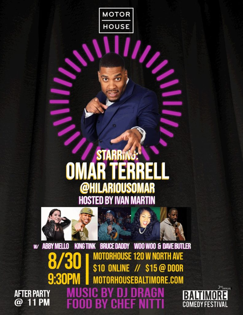 Hilarious Omar! Baltimore Comedy Festival - Feature SHOW
