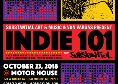 Indie 101: Marketing Workshop for Creatives