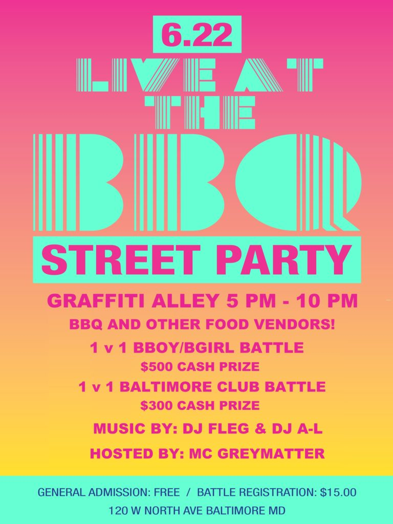 Live at the BBQ :: Street Party :: Food :: 1v1 Bboy/bgirl Battle 1