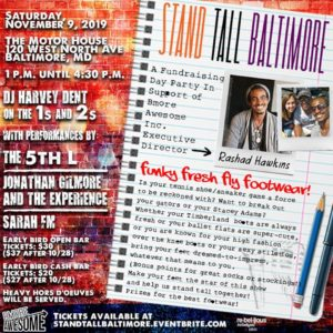 Stand Tall Baltimore: A Fundraising Day Party for Bmore Awesome