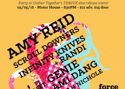 Thrive Release Party! w/ Amy Reid, Scroll Downers & More