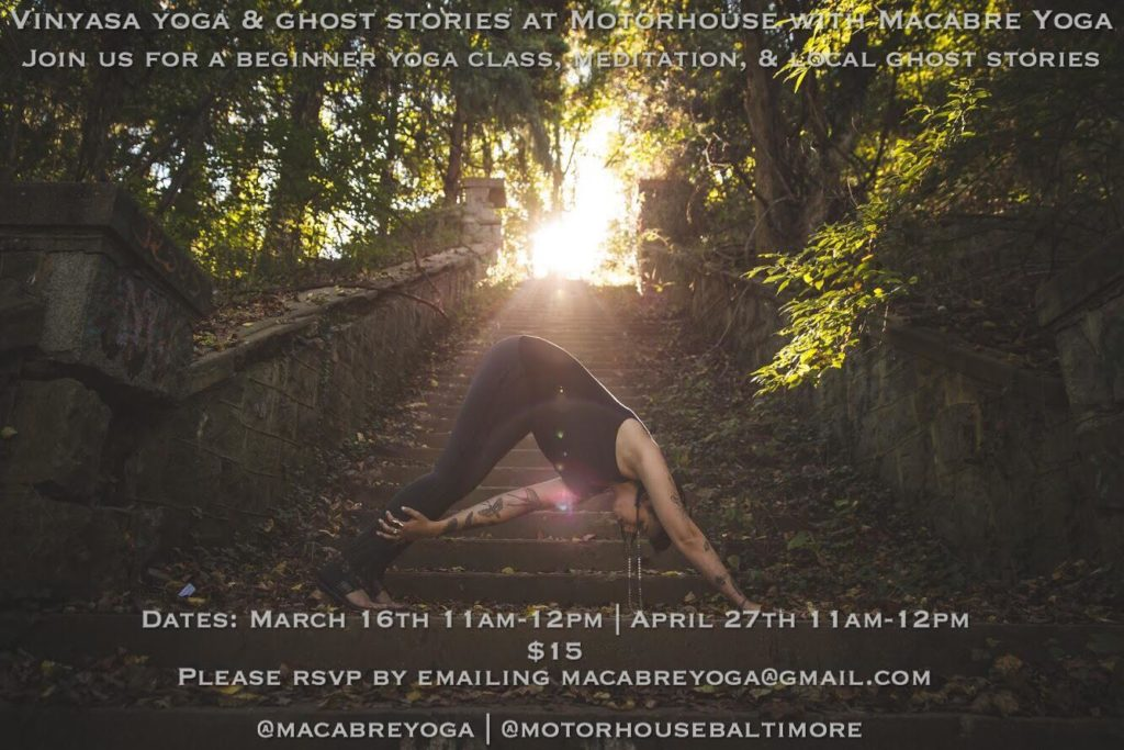 Yoga & Ghost Stories at Motor House